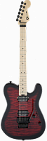Charvel Pro-Mod San Dimas® Style 2 HH FR QM, Maple Fingerboard, Transparent Red Burst