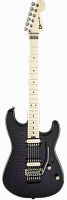 Charvel Pro-Mod San Dimas® Style 1 HH FR, Maple Fingerboard, Transparent Purple Burst