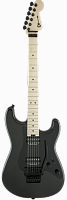 Charvel Pro-Mod So-Cal Style 1 HH FR, Maple Fingerboard, Metallic Black