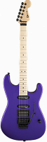 Charvel® USA Select San Dimas® Style 1 HSS FR, Maple Fingerboard, Satin Plum
