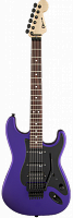 Charvel® USA Select So-Cal HSS FR, Rosewood Fingerboard, Satin Plum