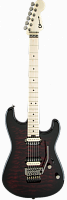 Charvel Pro-Mod San Dimas® Style 1 HH FR, Maple Fingerboard, Transparent Red Burst
